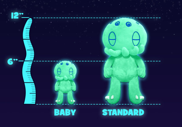 Glow-in-the-Dark C is for Cthulhu Baby Plush (6 in.)