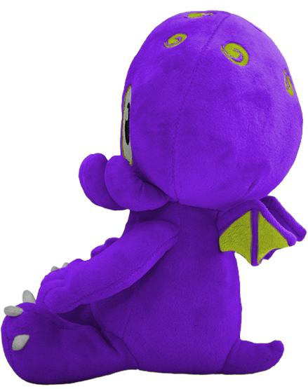 C is for Cthulhu Plush (Purple)
