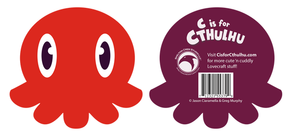 C is for Cthulhu Plush (Red)