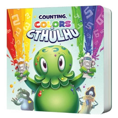 Counting, Colors & Cthulhu Hardcover Board Book