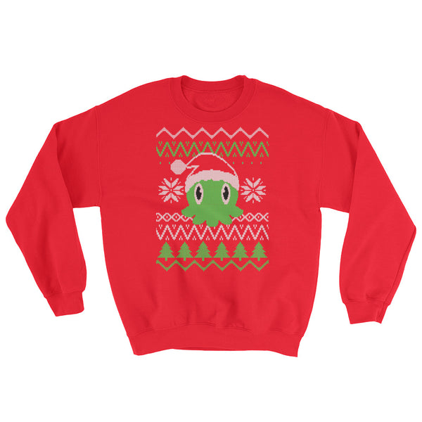 "C is for Cthulhu ""Ugly"" Christmas Sweatshirt"