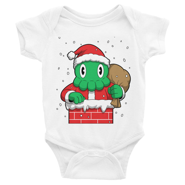 C is for Cthulhu-Claus Infant Bodysuit [Limited Edition]
