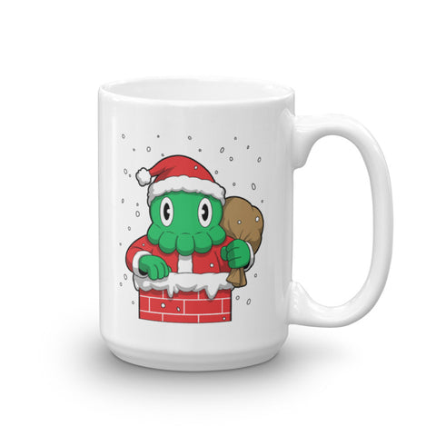 The Big C is for Christmas Cthulhu-Claus Mug [Limited Edition]