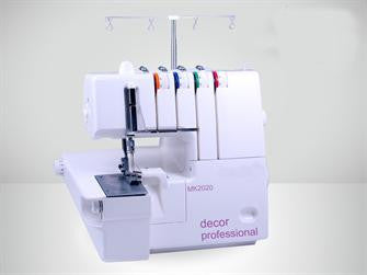 Decor MK2020 Overlocker (2, 3 and 4 thread - Lower Blade like an Industrial Machine) - HobbySew