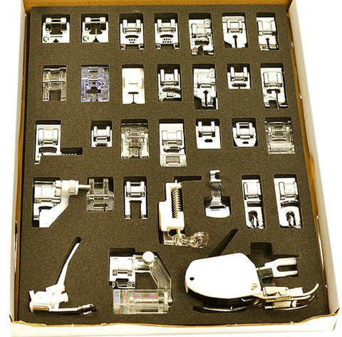 30 PIECE SEWING FEET SET