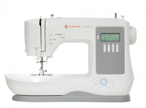 Singer 7640 Confidence NEW 2017 MODEL - 200 stitches with alphabet + FREE Extension Table