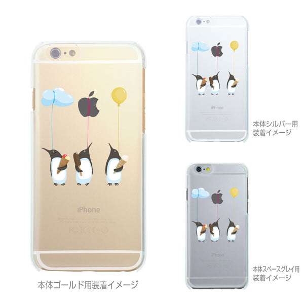 MADE IN JAPAN Soft Clear Case - Penguin Balloon for iPhone 6/6s - Dhouse USA - 2