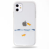 Goldfish Soft Clear iPhone Case