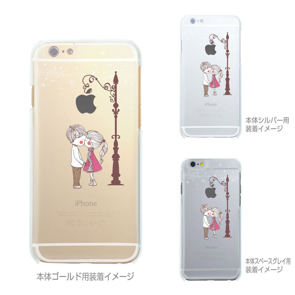 MADE IN JAPAN Soft Clear Case - Love Couple Kiss for iPhone 6/6s - Dhouse USA - 3