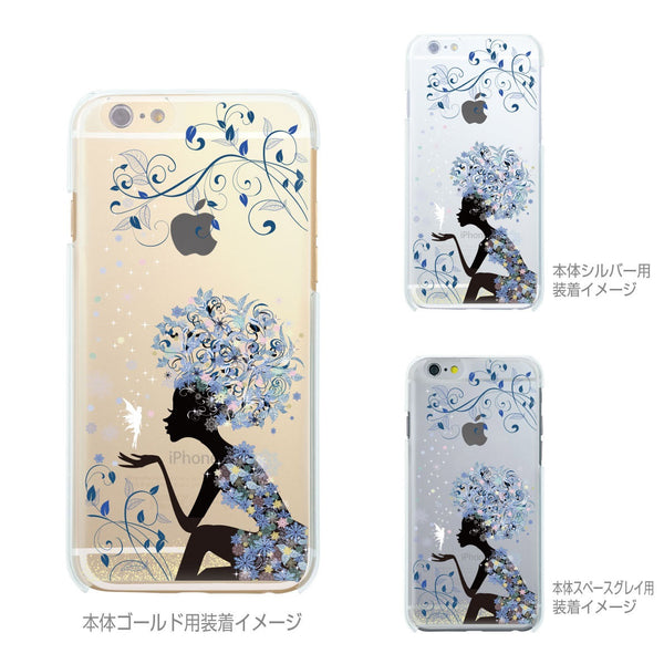 MADE IN JAPAN Soft Clear iPhone 6/6s Case - Snow Flower Princess - Dhouse USA - 2