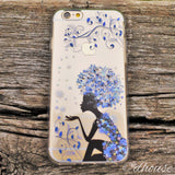 MADE IN JAPAN Soft Clear iPhone 6/6s Case - Snow Flower Princess - Dhouse USA - 3
