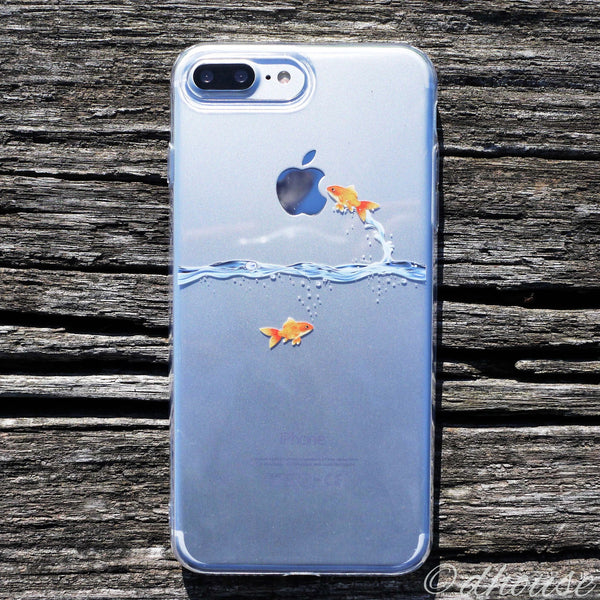 MADE IN JAPAN Soft Clear Case - Goldfish for iPhone 7 Plus - Dhouse USA - 2