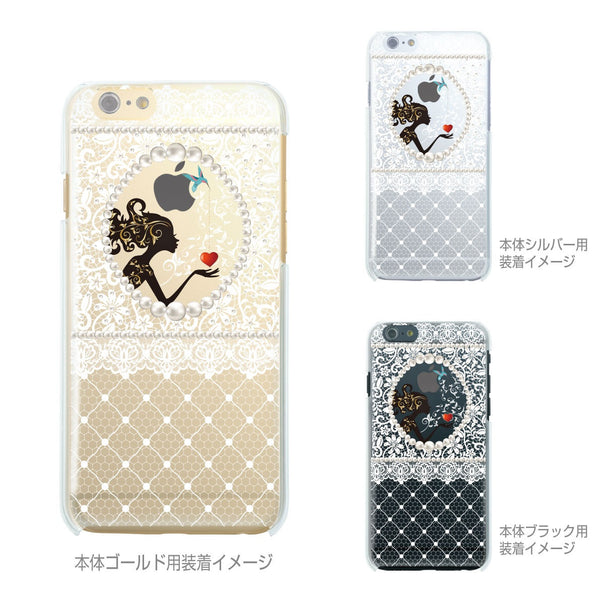 MADE IN JAPAN Soft Clear iPhone Case - Fairy White Lace - Dhouse USA - 2