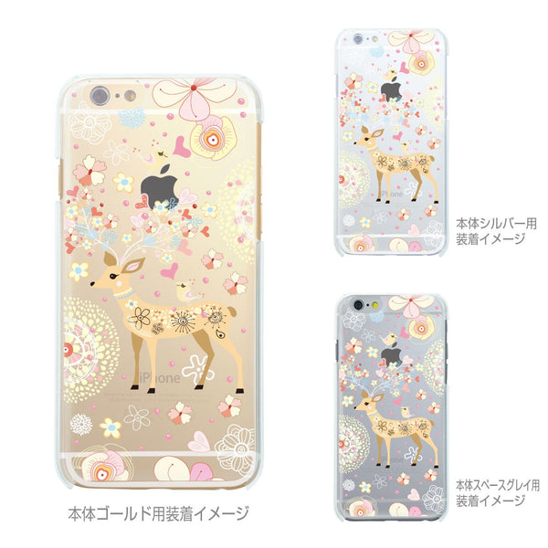 MADE IN JAPAN Soft Clear Case - Little Cute Deer for iPhone 6/6s - Dhouse USA - 2
