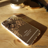 Cute Soft Clear iPhone Case - Autumn Fairy - Made in Japan by DHOUSE