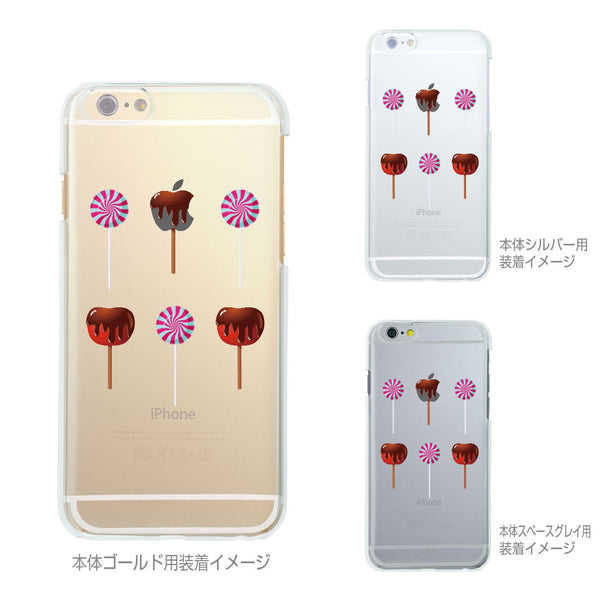 MADE IN JAPAN Soft Clear iPhone 6/6s Case - Lollipop Apple Candy - Dhouse USA - 2