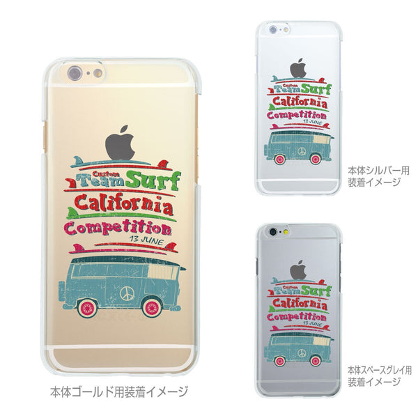 MADE IN JAPAN Soft Clear iPhone 6/6s Case - California Surfer - Dhouse USA - 2