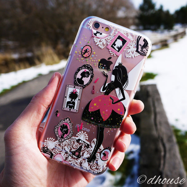 MADE IN JAPAN Soft Clear iPhone 6/6s Case - Fashionable Princess - Dhouse USA - 4