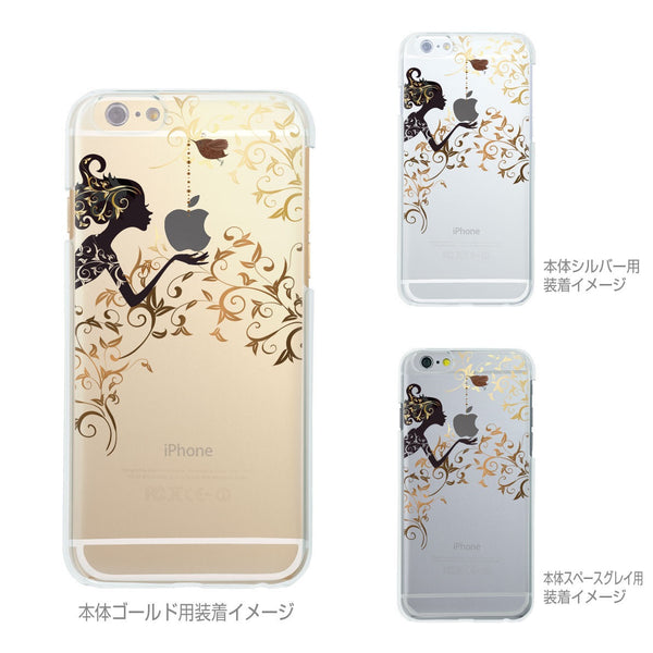 MADE IN JAPAN Hard Shell Clear iPhone Case - Autumn Fairy - Dhouse USA - 2