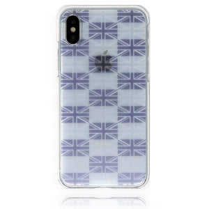 Clear iPhone Case - Flag of UK Union Jack - Made in Japan by DHOUSE