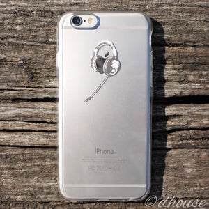 MADE IN JAPAN Soft Clear iPhone 6/6s Case - Headphone - Dhouse USA - 1