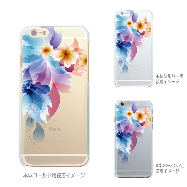MADE IN JAPAN Soft Clear iPhone 6/6s Case - Retro flowers - Dhouse USA - 2