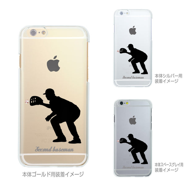 MADE IN JAPAN Soft Clear iPhone 6/6s Case - Baseball Player - Dhouse USA - 2