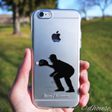 MADE IN JAPAN Soft Clear iPhone 6/6s Case - Baseball Player - Dhouse USA - 4