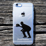 MADE IN JAPAN Soft Clear iPhone 6/6s Case - Baseball Player - Dhouse USA - 1