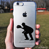 MADE IN JAPAN Soft Clear iPhone 6/6s Case - Baseball Player - Dhouse USA - 3