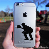 MADE IN JAPAN Soft Clear iPhone 6/6s Case - Baseball Player - Dhouse USA - 5