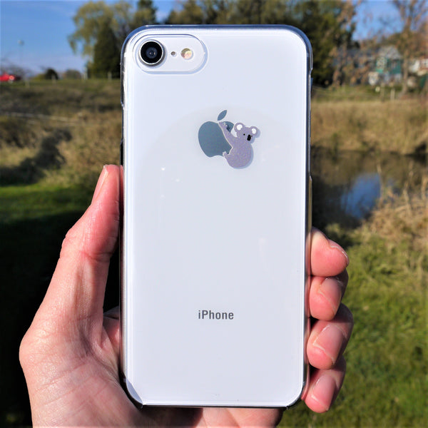 MADE IN JAPAN Hard Shell Clear Case for iPhone 8/8 Plus - Koala