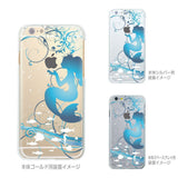 MADE IN JAPAN Soft Clear Case for iPhone 6/6s - Mermaid Blue - Dhouse USA - 2