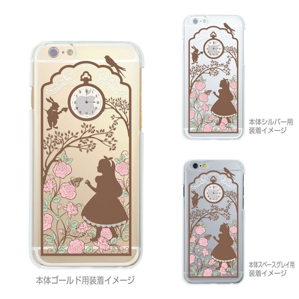 MADE IN JAPAN Soft Clear Case - Alice in Wonderland for iPhone 7 - Dhouse USA - 3