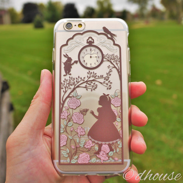 MADE IN JAPAN Soft Clear iPhone Case - Alice in Wonderland - Dhouse USA - 1