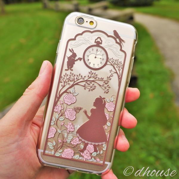 MADE IN JAPAN Soft Clear iPhone Case - Alice in Wonderland - Dhouse USA - 4