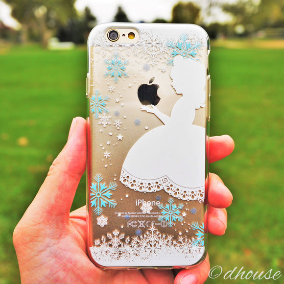 MADE IN JAPAN Soft Clear Case for iPhone 6/6s - Snow White - Dhouse USA - 1