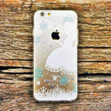 MADE IN JAPAN Soft Clear Case for iPhone 6/6s - Snow White - Dhouse USA - 3