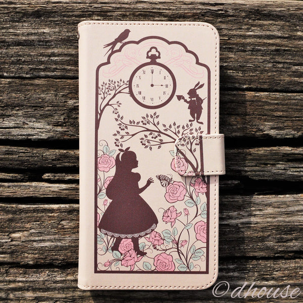 MADE IN JAPAN Wallet Case for iPhone 6/6s Plus - Alice in Wonderland - Dhouse USA - 1
