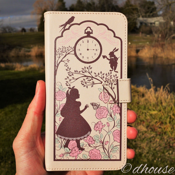 MADE IN JAPAN Wallet Case for iPhone 6/6s Plus - Alice in Wonderland - Dhouse USA - 3