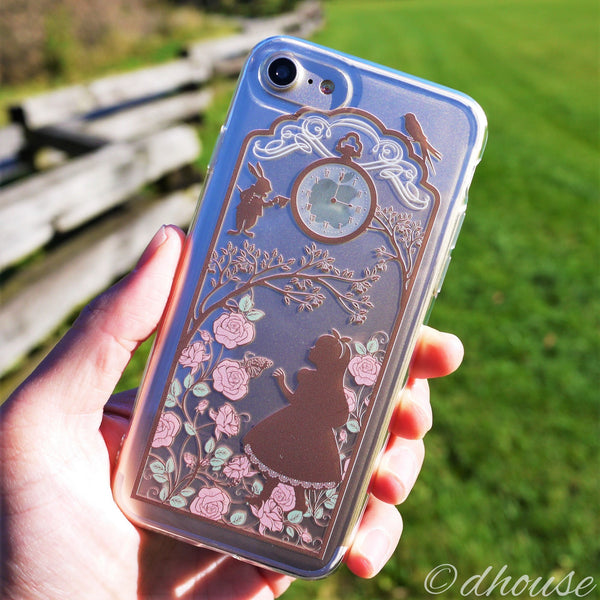 MADE IN JAPAN Soft Clear Case - Alice in Wonderland for iPhone 7 - Dhouse USA - 2