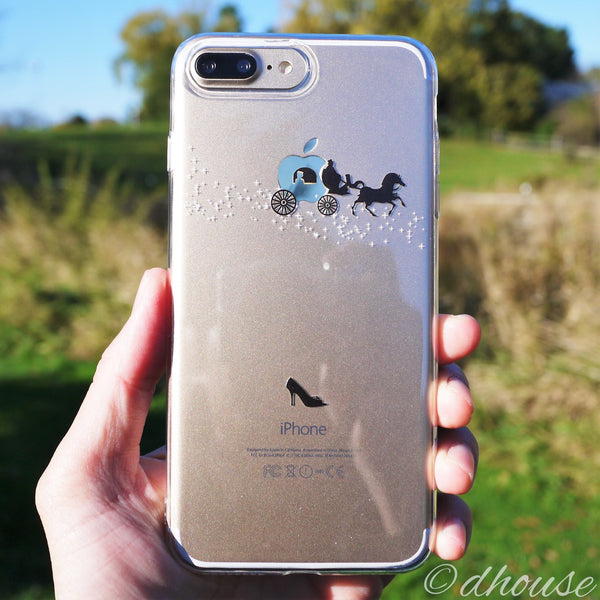 MADE IN JAPAN Soft Clear Case - Cinderella Carriage for iPhone 7 Plus - Dhouse USA - 2