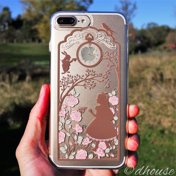 MADE IN JAPAN Soft Clear Case - Alice in Wonderland for iPhone 7 Plus - Dhouse USA - 1