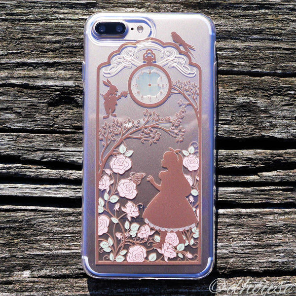 MADE IN JAPAN Soft Clear Case - Alice in Wonderland for iPhone 7 Plus - Dhouse USA - 2
