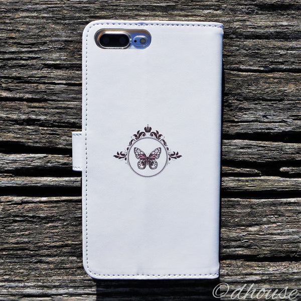 MADE IN JAPAN Wallet Case for iPhone 7 Plus - Alice in Wonderland White - Dhouse USA - 2