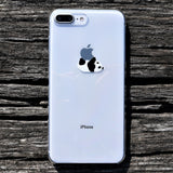 Cute Clear iPhone Case Panda Crawling Made in Japan