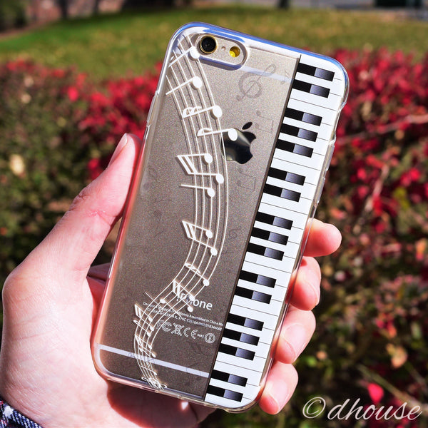 MADE IN JAPAN Soft Clear Case - Piano Sheet Music for iPhone 6/6s - Dhouse USA - 2
