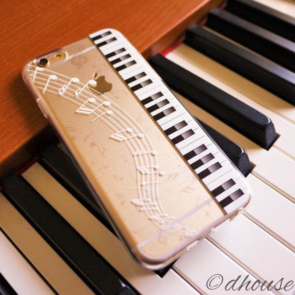 MADE IN JAPAN Soft Clear Case - Piano Sheet Music for iPhone 6/6s - Dhouse USA - 1
