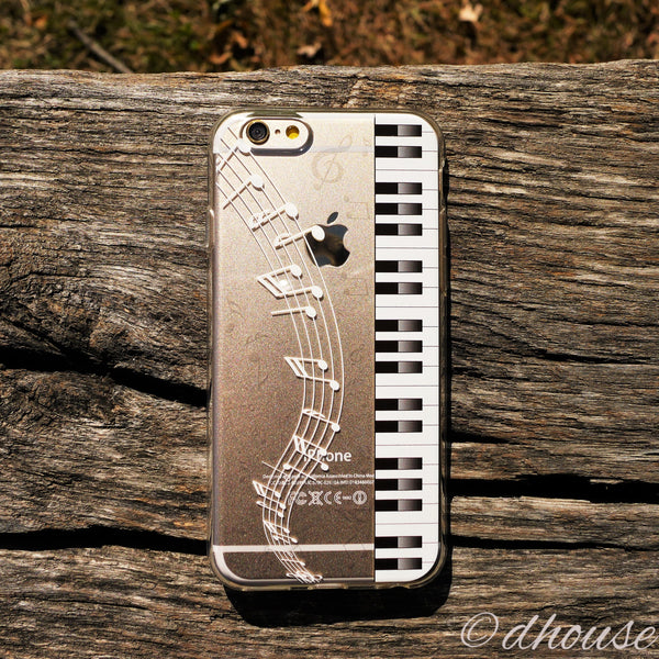MADE IN JAPAN Soft Clear Case - Piano Sheet Music for iPhone 6/6s - Dhouse USA - 3