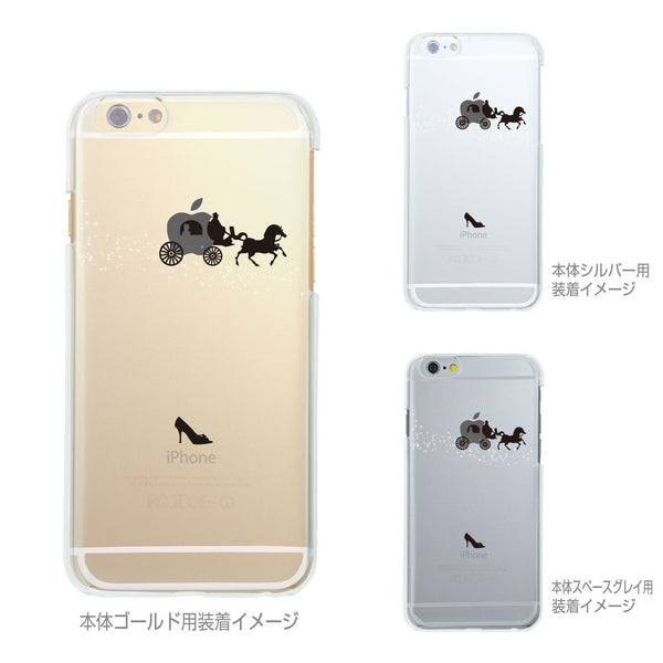 MADE IN JAPAN Soft Clear iPhone Case - Cinderella Carriage - Dhouse USA - 2